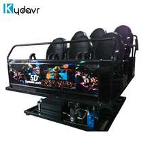 Factory multi seats machine 7D 5D 9D cinema for sale