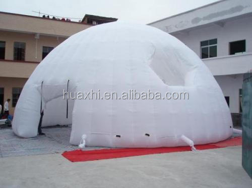 customized outdoor camping inflatable clear air dome tent, advertising inflatable tent