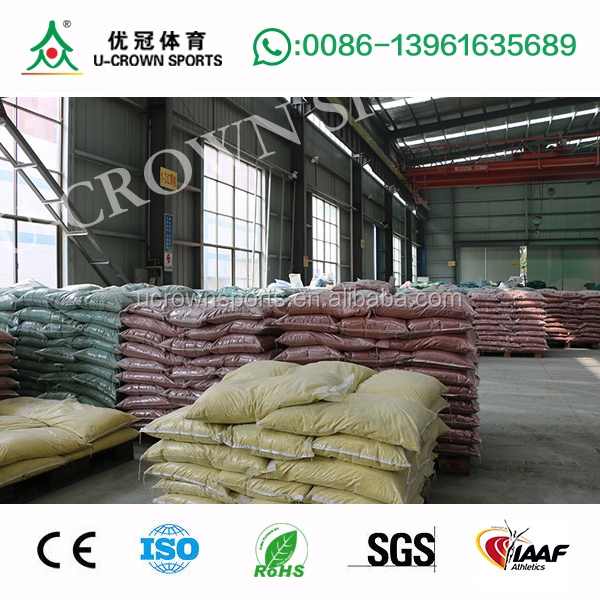 Hot sale EPDM Black Granules, Colored EPDM crumb rubber, EPDM granules for outdoor playground and atheltic running track