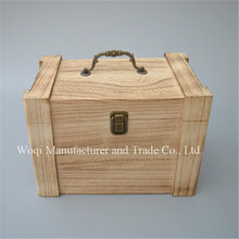 Hot sale antique gift box vintage storage wood box packaging Customized Accept