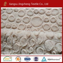 China factory 100% polyester long fleece fabric, pv plush fabrics for knitted fur coat, blanket JC04518