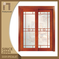 China High Quality Interior Simple Glass Sliding Door Cheap Prices