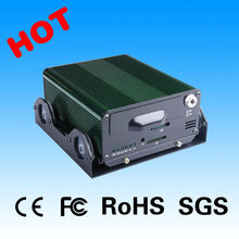 Factory Directly 4 CH 2TB HDD car video driving recorder with CE FCC ROHS certification