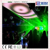 New WS2821 IC flexible video curtain programmable led rgb sign for club decor