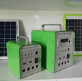 Solar power lighting kit for home application
