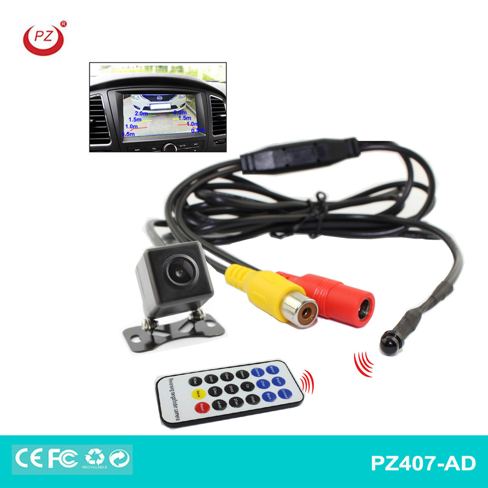 PZ patent colourful night vision waterproof reverse car camera front and rear car camera car reverse camera