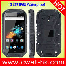 Alps X8G 4.7 Inch HD Screen Quad Core IP68 Waterproof 4G LTE Android NFC China Rugged Smarthone
