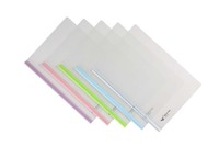 stationery A4 report cover plastic clip file folder