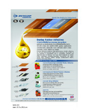 Dunlop Laminated Plastic Adhesives