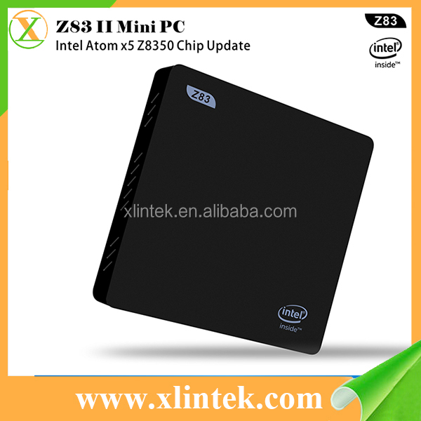 2017 newest Z83II Mini PC Intel Z8350 2GB+32GB Intel HD Graphics 400 Windows10 TV Box Z83 II