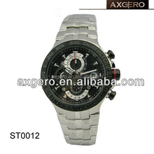 Japan movement stainless steel watch 5atm water resistant
