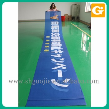 Custom supply design professional advertising mesh banner printing