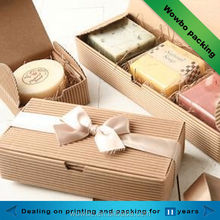 2014 popular soap carton box packaging/corrugated paper soap packaging box