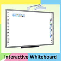 Finger touch interactive whiteboard smart electronic whiteboard with educational software