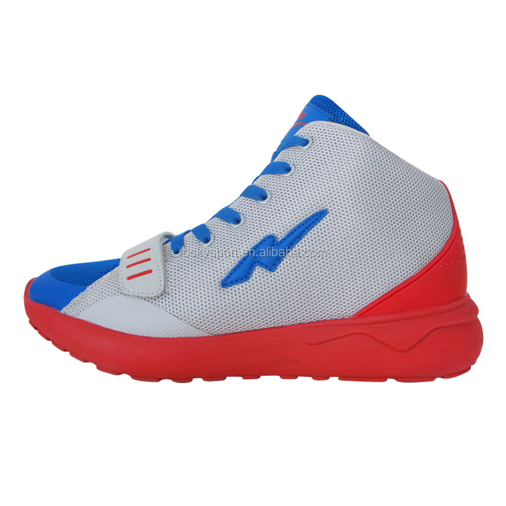 factory price OEM make your own brand man basketball shoes