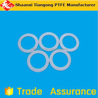 white ptfe gasket, ptfe plastic ring, modified ptfe gasket