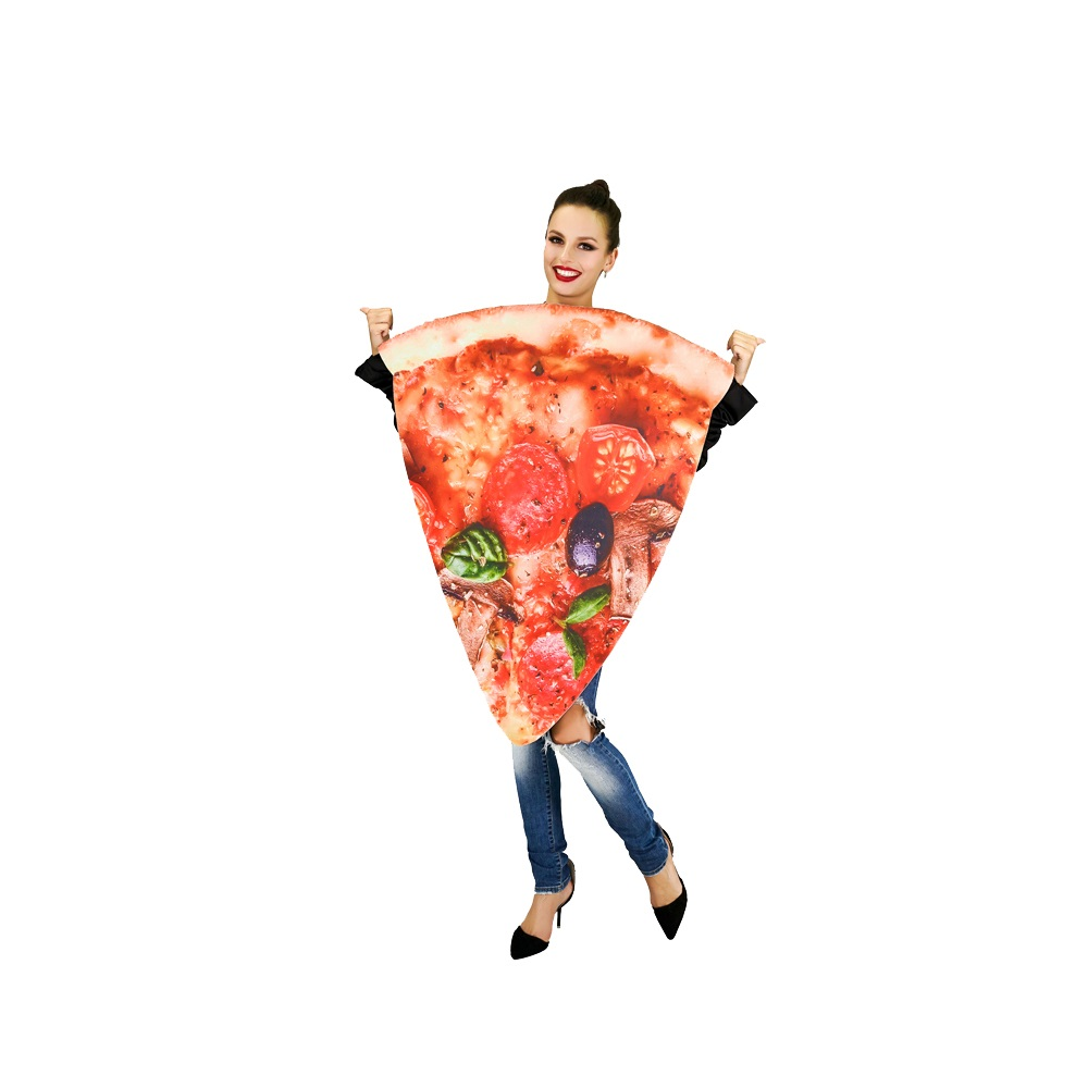 Funny Halloween Carnival Party Food Series Costume Pizza Slice Design