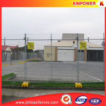 Construction site Galvanzied Temporary Chain Link Fence (ISO 9001 factory)