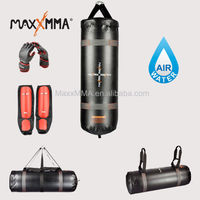 MaxxMMA Training & Fitness Punch Bag with MMA Grappling Gloves and Shin Guard