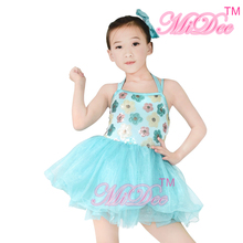 Latest Design Girls Ballet Tutu Dance Costume Children Long Frocks Designs