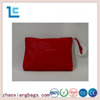 Professional custom fashion design soft pu red ladies cosmetic bag