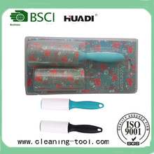 Sticky Lint Roller set With 1pc Replacement Head In Blister Card HD6807