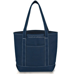 Canvas shopping tote bag wholesale