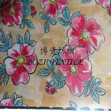tropical printing flower fabric