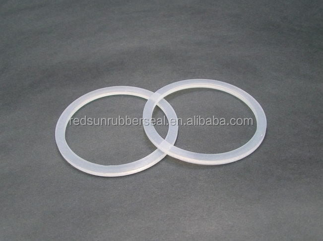 Medical silicon rubber sealing ring