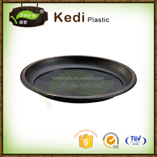 10% discount flower pot plastic dark color plates 13""