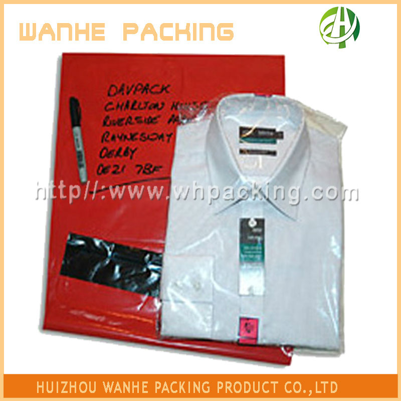 Poly Red LDPE mailing bags