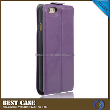 Crazy Horse Grain Genuine Leather Flip Case For Iphone 5C Wallet Case