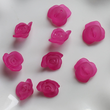 8*16MM Various Acrylic Rose Flower Beads Plastic Beads In Bulk for Wholesale