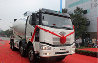 China factory truck mounted concrete mixer mobile concrete mixer with pump