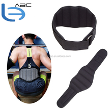 Durable Adjustable Nylon Weight Lifting Belt Thick Waist Support Stainless Buckle Gym Fitness Guard Weightlifting Belt