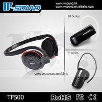 Wsound digital wireless headphone sd mp3