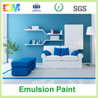 Waterproof dust proof interior emulsion washable wall spray paint supplier