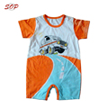 Customized newborn baby clothing bodysuits printed cotton baby boys romper outfits