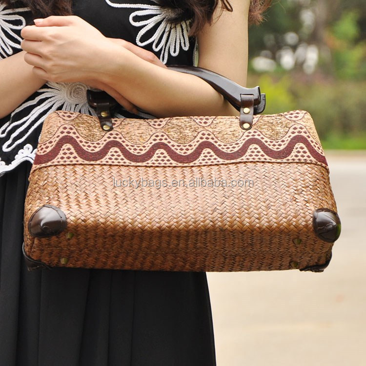 china supplier 2016 tmall new products straw fashion women's bag summer beach/hand bag