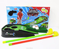 Cheap novel sport games toys golf set with light sounds for kids