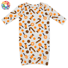 Long Sleeve Infant Unisex Christmas Candy Many Sleeping Bag Wholesale Soft Material Kids Gown