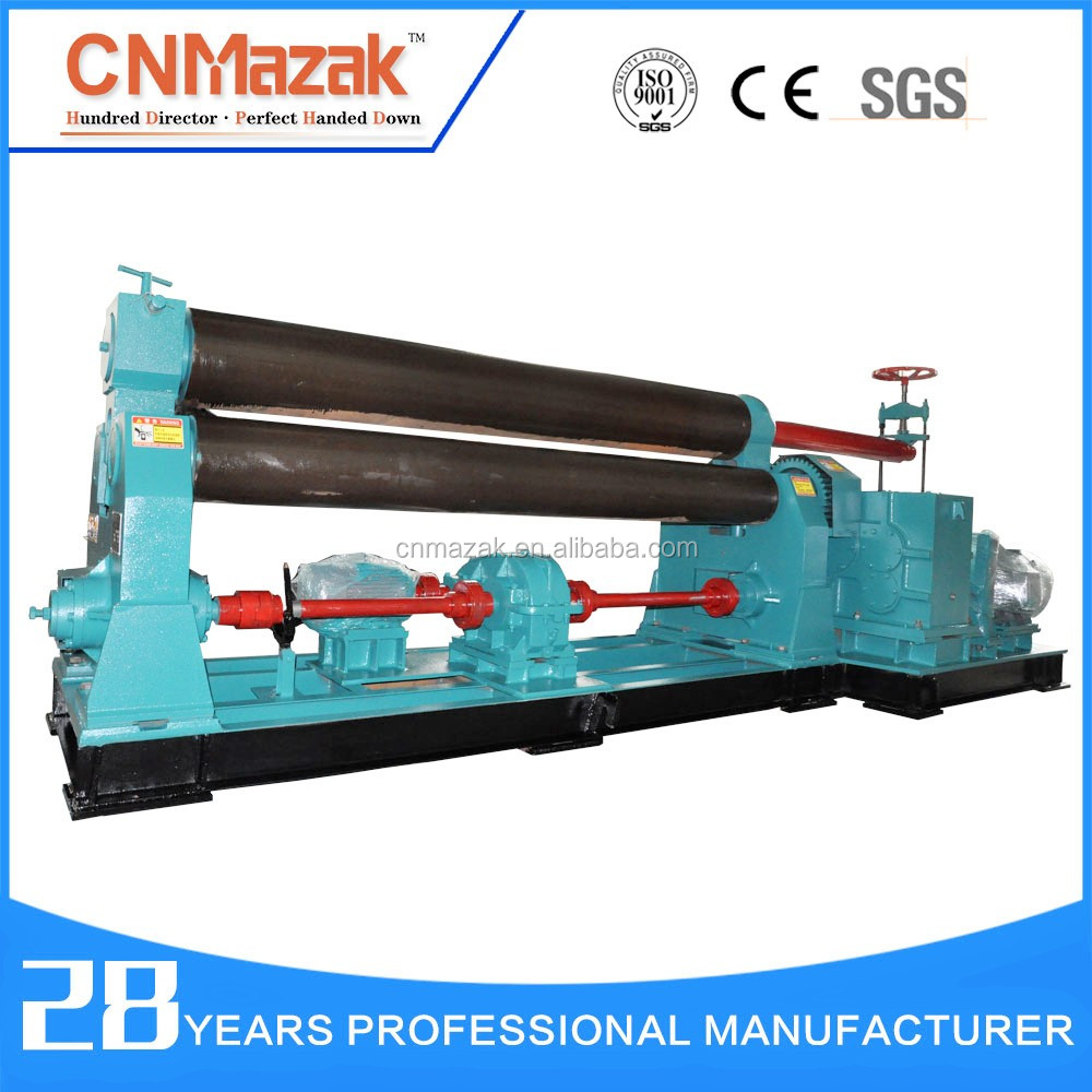 CNMazak Brank Rolling Machine 3-roller for Rolling L (Diamter <strong>W11</strong>-6mmx2000mm)