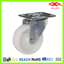 125mm swivel plastic caster and wheel