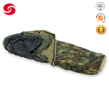 Camouflage military sleeping bag with waterproof