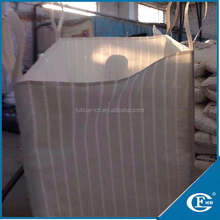 Ventilated firewood bag 1000kg, two side mesh fabric big bag firewood, 8 loops firewood bulk bag from china