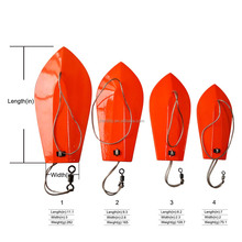 Sea fishing wooden trolling boards fishing Deep - sea Fishing Boat Artificial Bait Wood boards