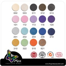 Profesional wholesale cosmetics makeup shining eye shadow