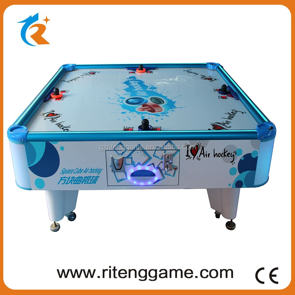 Portable 4 Kids Indoor Air Hockey Table Game Alibaba Hot