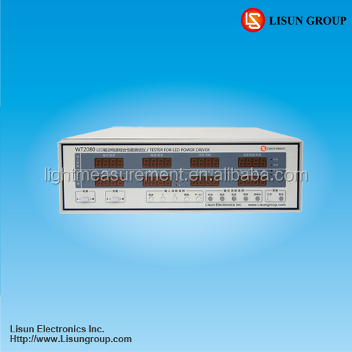 WT2080 led driver testing equipment Also Can Measure harmonic