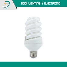 CFL 5~45W E27/B22 Spiral energy-saving bulb tricolor energy-saving light yellow white light 110-120V/220-240V